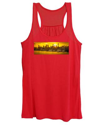 Manhattan's Ports At Sunrise Women's Tank Top