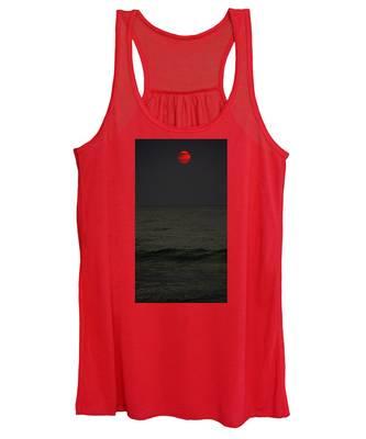 Orange Onyx Sunrise Women's Tank Top