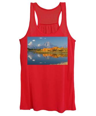 Oxbow Bend Reflection Women's Tank Top