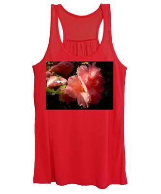 Splash Of Begonia Women's Tank Top