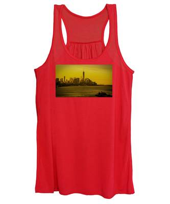 Sunrise Across The Hudson Women's Tank Top
