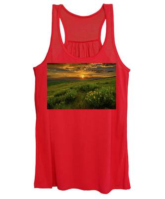 Sunset At Steptoe Butte Women's Tank Top