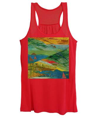 Sunset Sails 3 Women's Tank Top