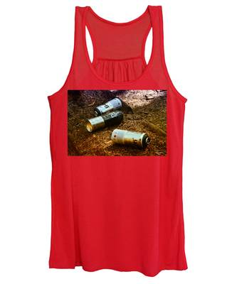 Women's Tank Top featuring the photograph Tag Toolz by Rasma Bertz