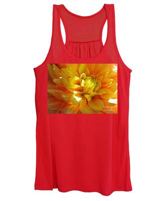 The Heart Of A Dahlia Women's Tank Top