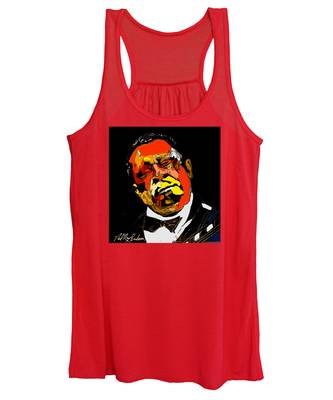 tribute to BB King reworked Women's Tank Top