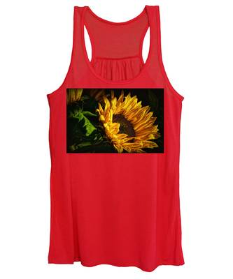 Warmth Of The Sunflower Women's Tank Top