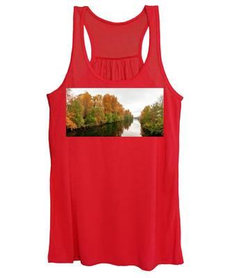 Courtenay River Fall Women's Tank Top