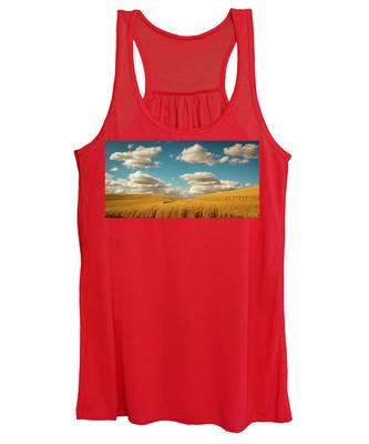 Grains Of Palouse Women's Tank Top
