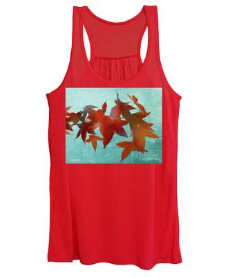 The Red Leaves Women's Tank Top