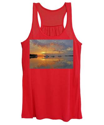 Tranquility Bay - Florida Sunrise Women's Tank Top