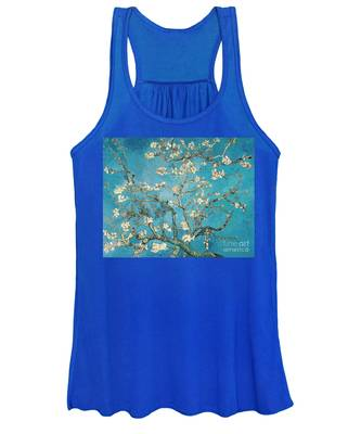 Almond Branches In Bloom Women's Tank Top