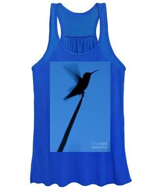 Hummingbird Silhouette Women's Tank Top