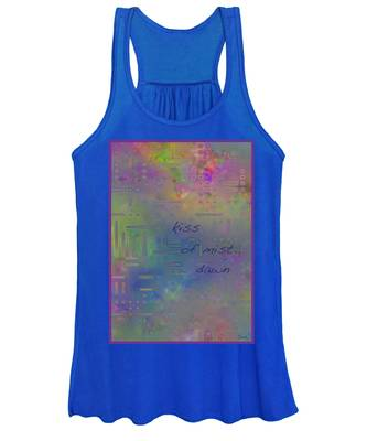 Kiss Of Mist Haiga Women's Tank Top