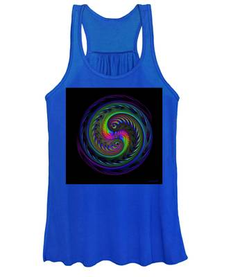 Koi Yin Yang Women's Tank Top