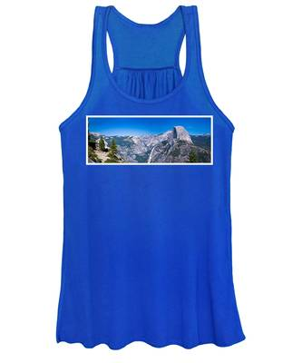 Yosemite Valley From Glacier Point Women's Tank Top