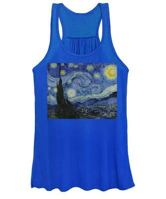 The Starry Night Women's Tank Top