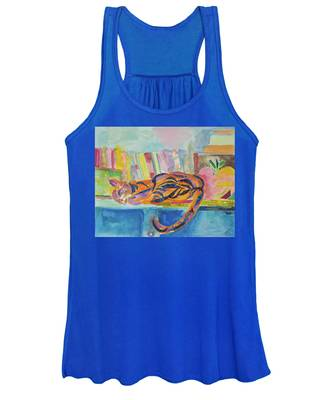 Cat Nap Women's Tank Top