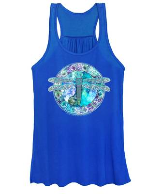 Cool Celtic Dragonfly Women's Tank Top
