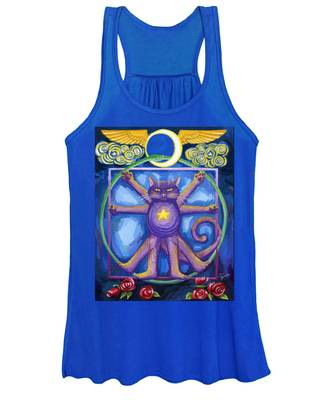 Da Vinci Cat Women's Tank Top
