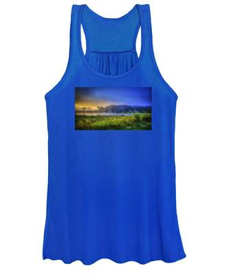 Fogy Sunrise  Women's Tank Top