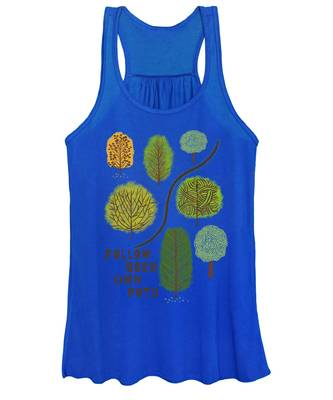 Path Women's Tank Tops