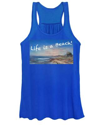 Life Is A Beach Women's Tank Top