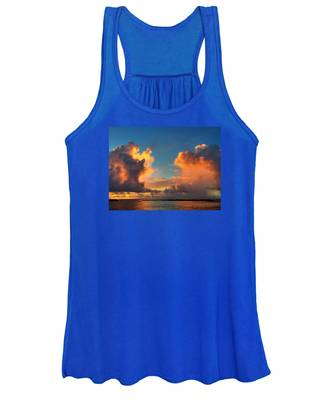 Orange To The Left And To The Right Women's Tank Top