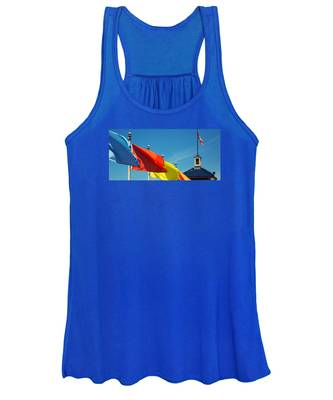 Redondo Beach Flags Women's Tank Top
