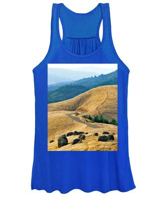 Riding The Mountain Women's Tank Top