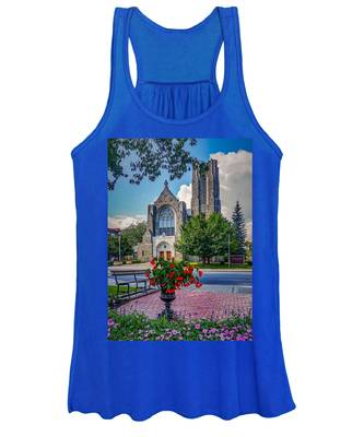 The Church In Summer Women's Tank Top