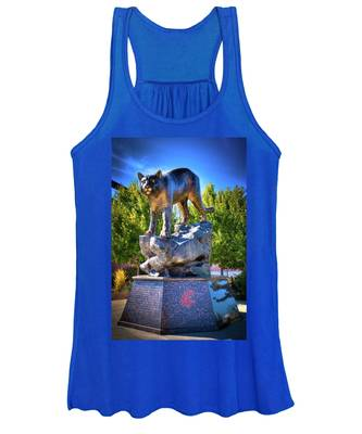 The Cougar Pride Sculpture Women's Tank Top