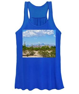 Women's Tank Top featuring the photograph Arizona Desert Hidden Valley by Judy Kennedy