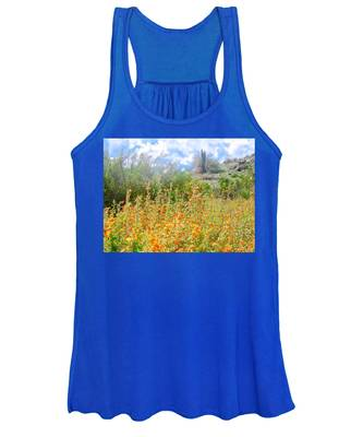 Women's Tank Top featuring the photograph Heavenly Home In Arizona by Judy Kennedy