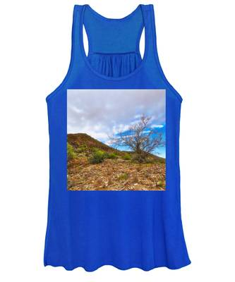 Women's Tank Top featuring the photograph Lone Palo Verde by Judy Kennedy