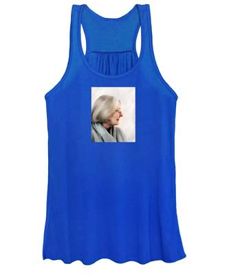 Woman In Grey Women's Tank Top