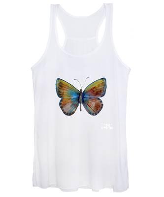 22 Clue Butterfly Women's Tank Top