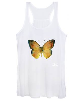 53 Leucippe Detanii Butterfly Women's Tank Top