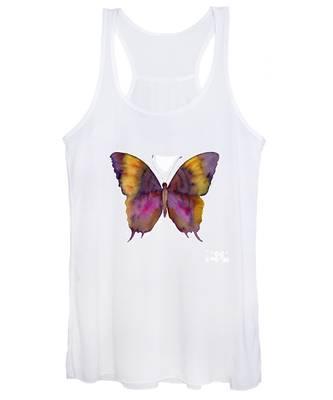 99 Marcella Daggerwing Butterfly Women's Tank Top