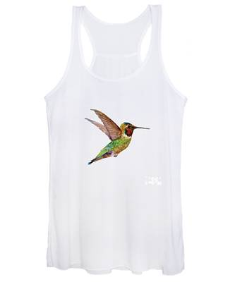 Anna Hummingbird Women's Tank Top