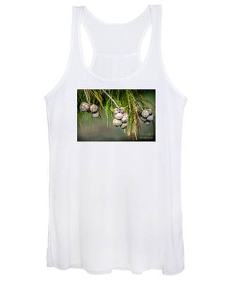 Bald Cypress Tree Seed Pods Women's Tank Top