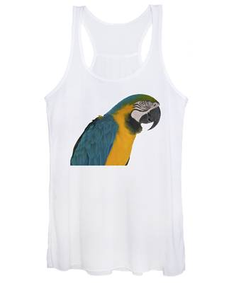 Blue Gold Macaw Women's Tank Top