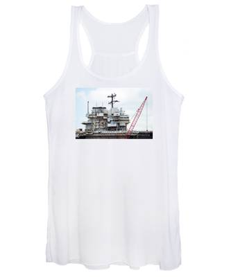 Uss Forrestal Bridge Women's Tank Top