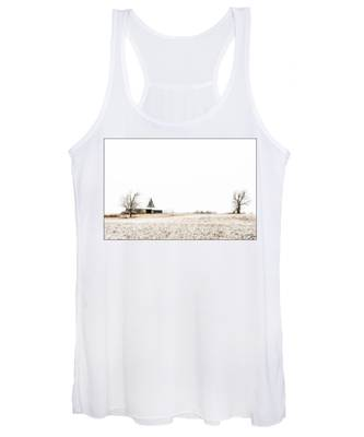 Ethereal Wintry Scene Women's Tank Top