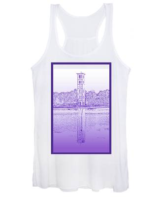 Furman Bell Tower Women's Tank Top