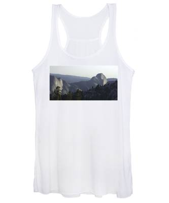 Half Dome From Olmsted Pt Women's Tank Top