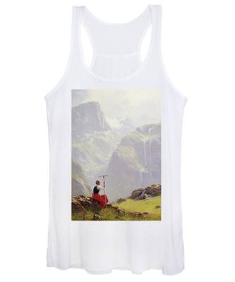 High In The Mountains Women's Tank Top