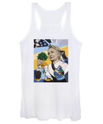 In Honor Of Hillary Clinton Women's Tank Top