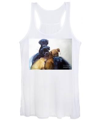 Stray Puppies Women's Tank Top
