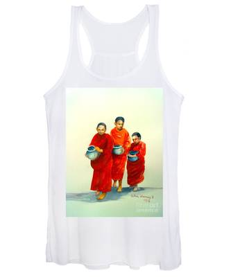 The Young Monks Women's Tank Top
